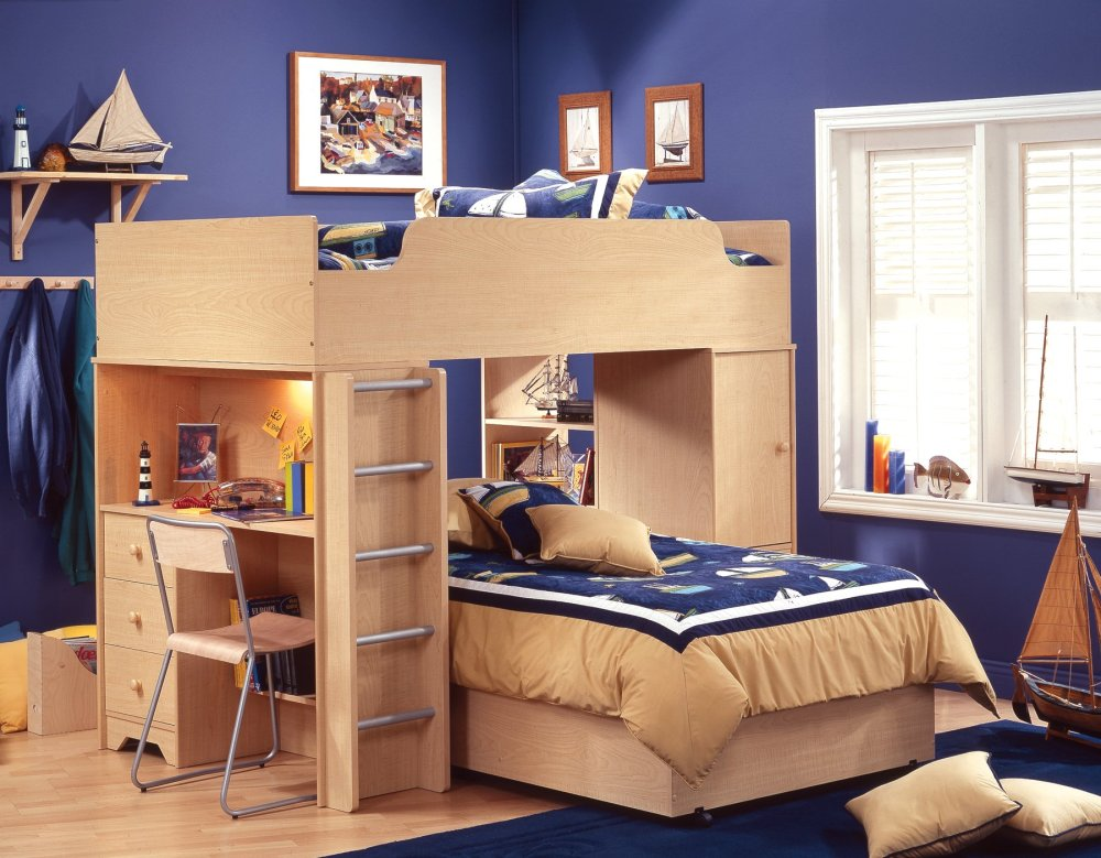 amazing-kids-room-wooden-twin-loft-bed-with-storage-unit-bedroom-photo-hidden-bed-idea