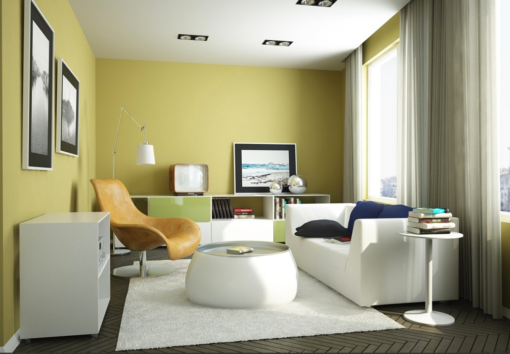 REINOMAGAZINE-Yellow-green-Living-Room