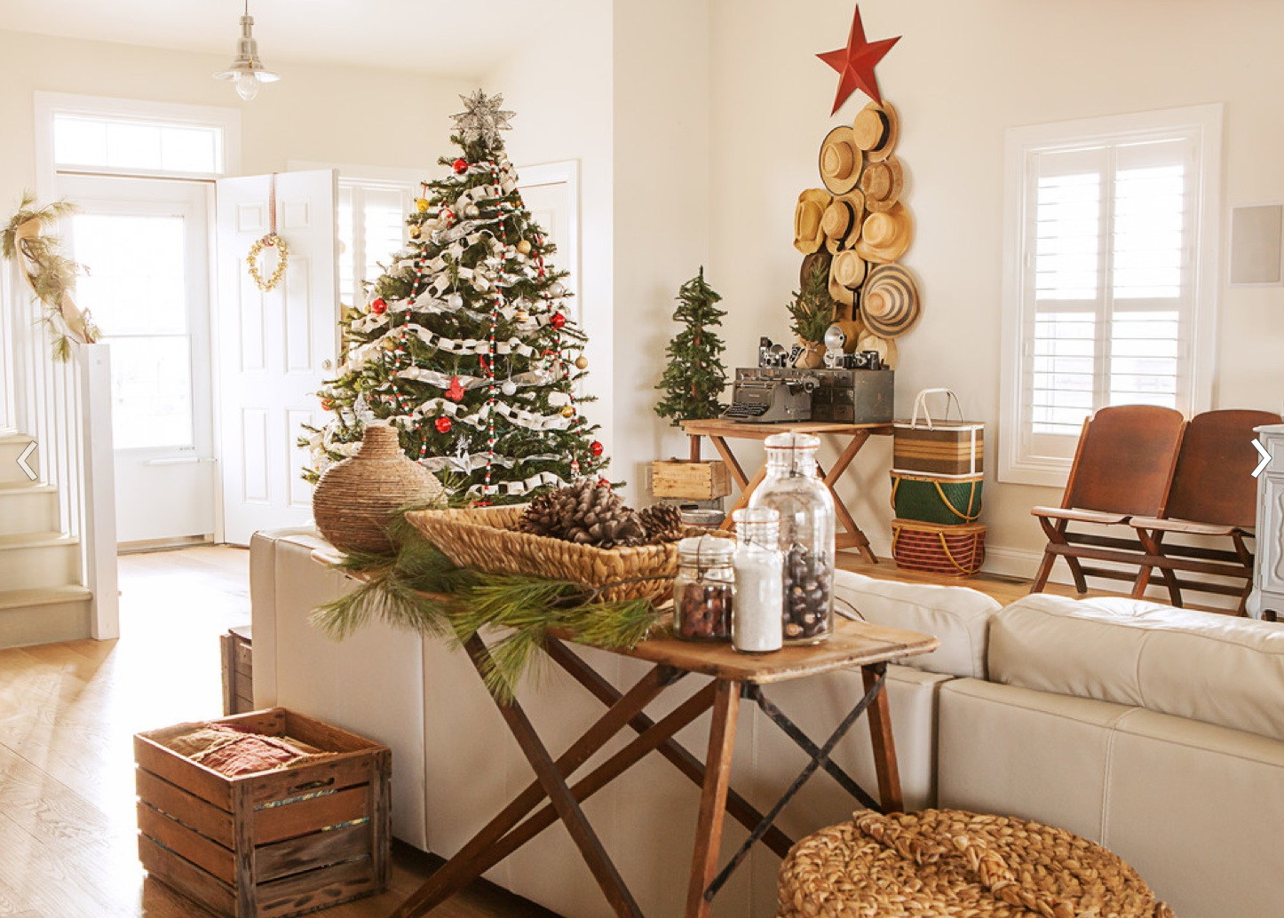 Primitive christmas tree decorating ideas pinterest 1 for Christmas home ideas