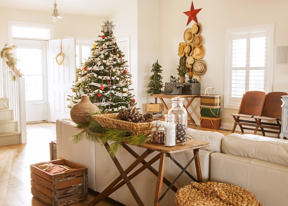 Rustic Country Christmas Decorating Ideas | Ideas Christmas Decorating