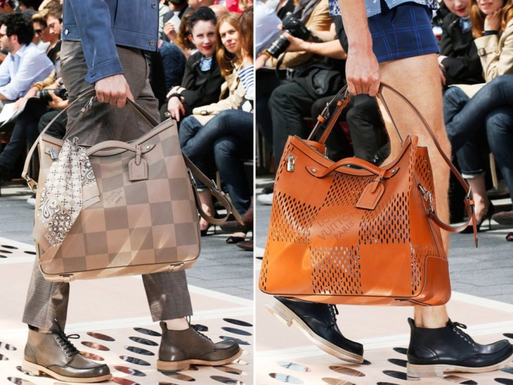 REINOMAGAZINELouis-Vuitton-Taupe-Oversized-and-Brown-Bag-Spring-2014