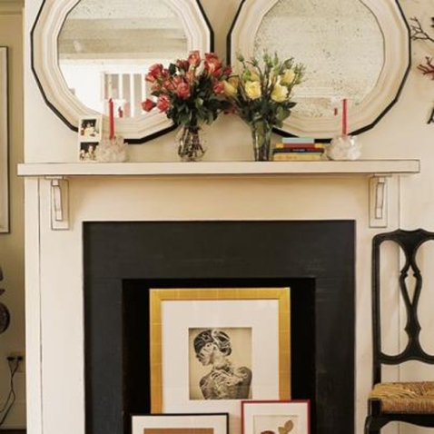 REINO MAGAZINE - ideas to decorate non working fire